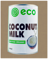 Coconut Milk by Eco Foods. 400ml