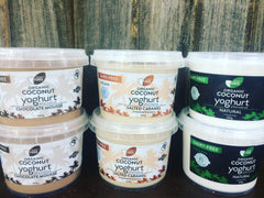 Coconut yoghurt (Organic, GF, Vegan, all natural)