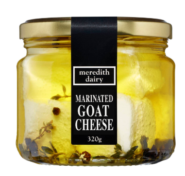 Meredith Dairy Marinated Goats Cheese. 320gr
