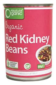 Red Kidney Beans - canned - Green Mumma