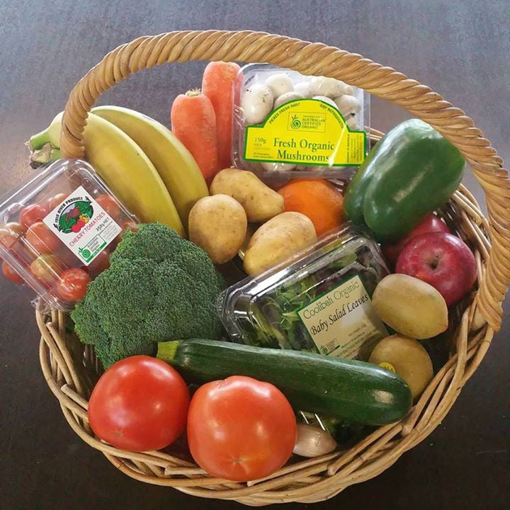 Small Organic Produce box - Green Mumma