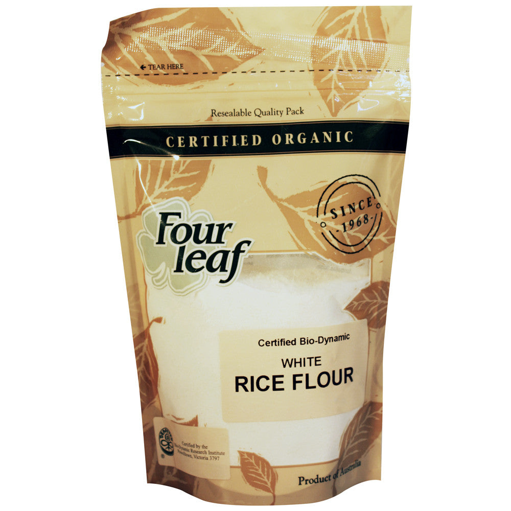 Organic White Rice Flour - Green Mumma