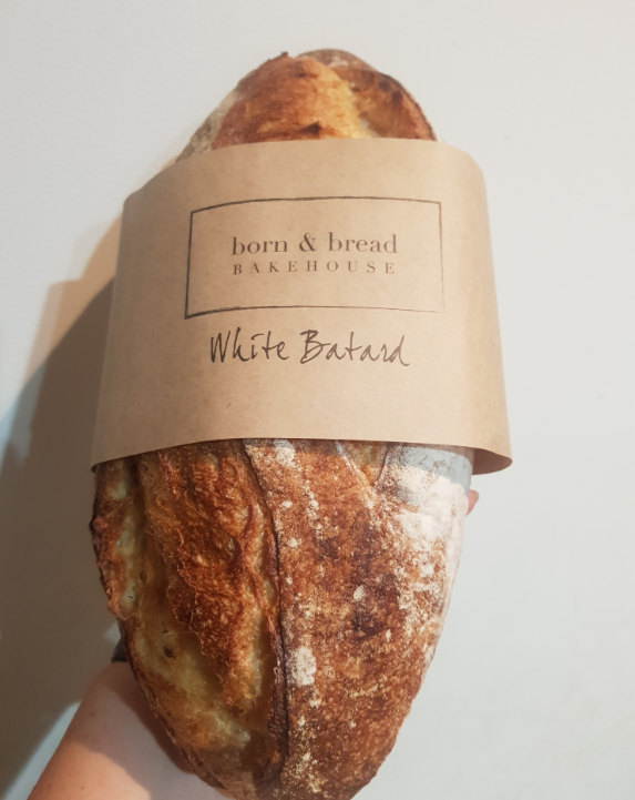 White Batard Loaf - Green Mumma