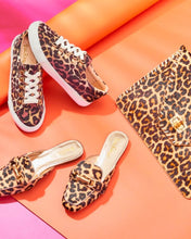 Load image into Gallery viewer, Andi Leopard Print Mule Sandal