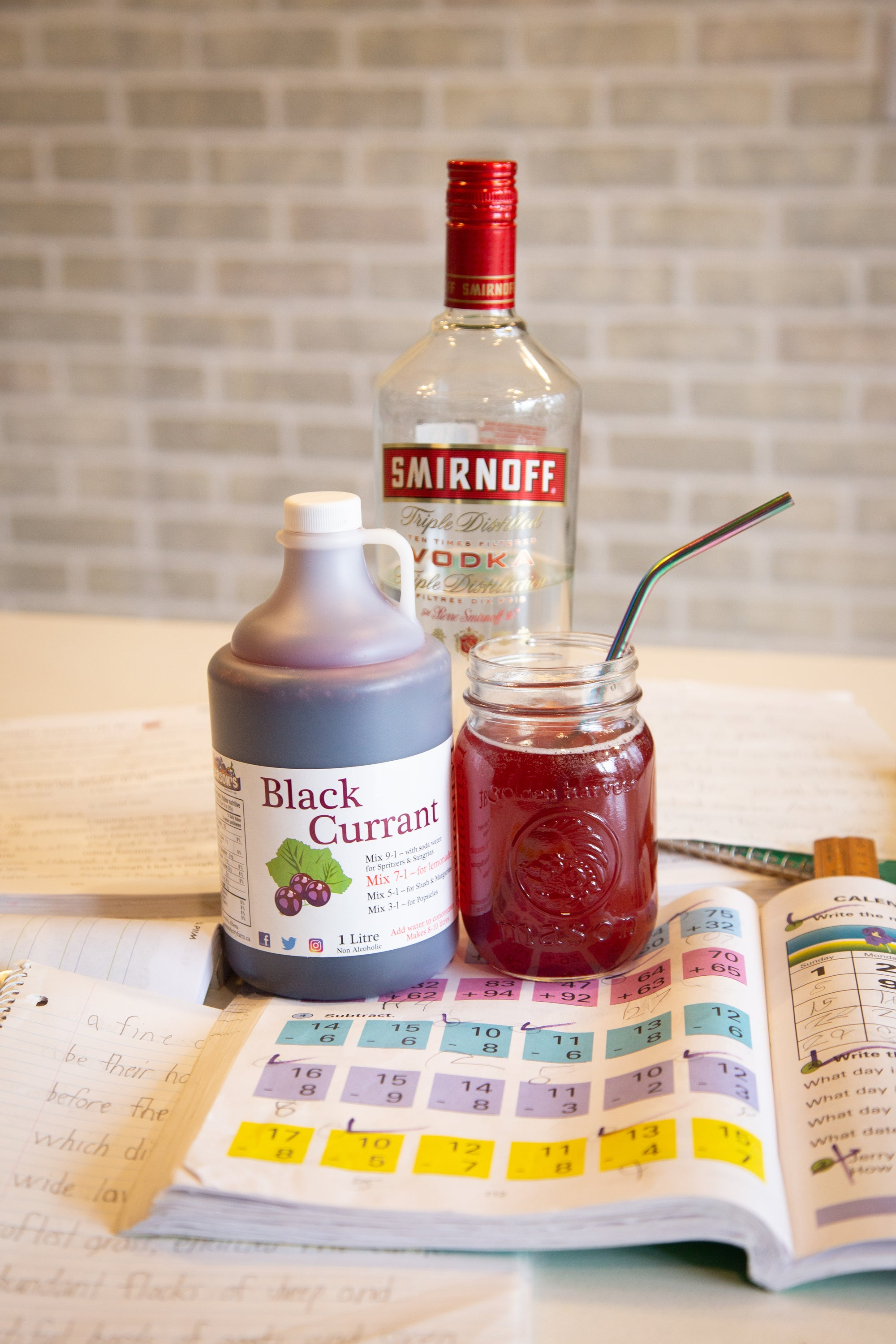Recipe: Black Currant Liquour