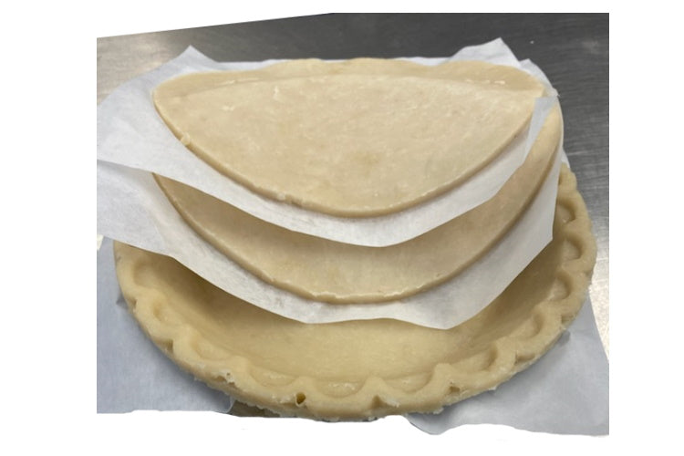 Frozen Unbaked Pie Shells with Lid