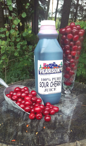 Pure Sour Cherry Juice 1L