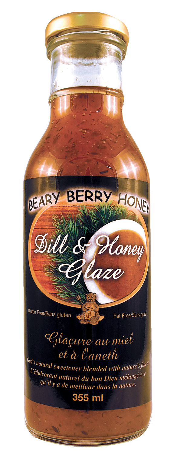Dill & Honey Glaze