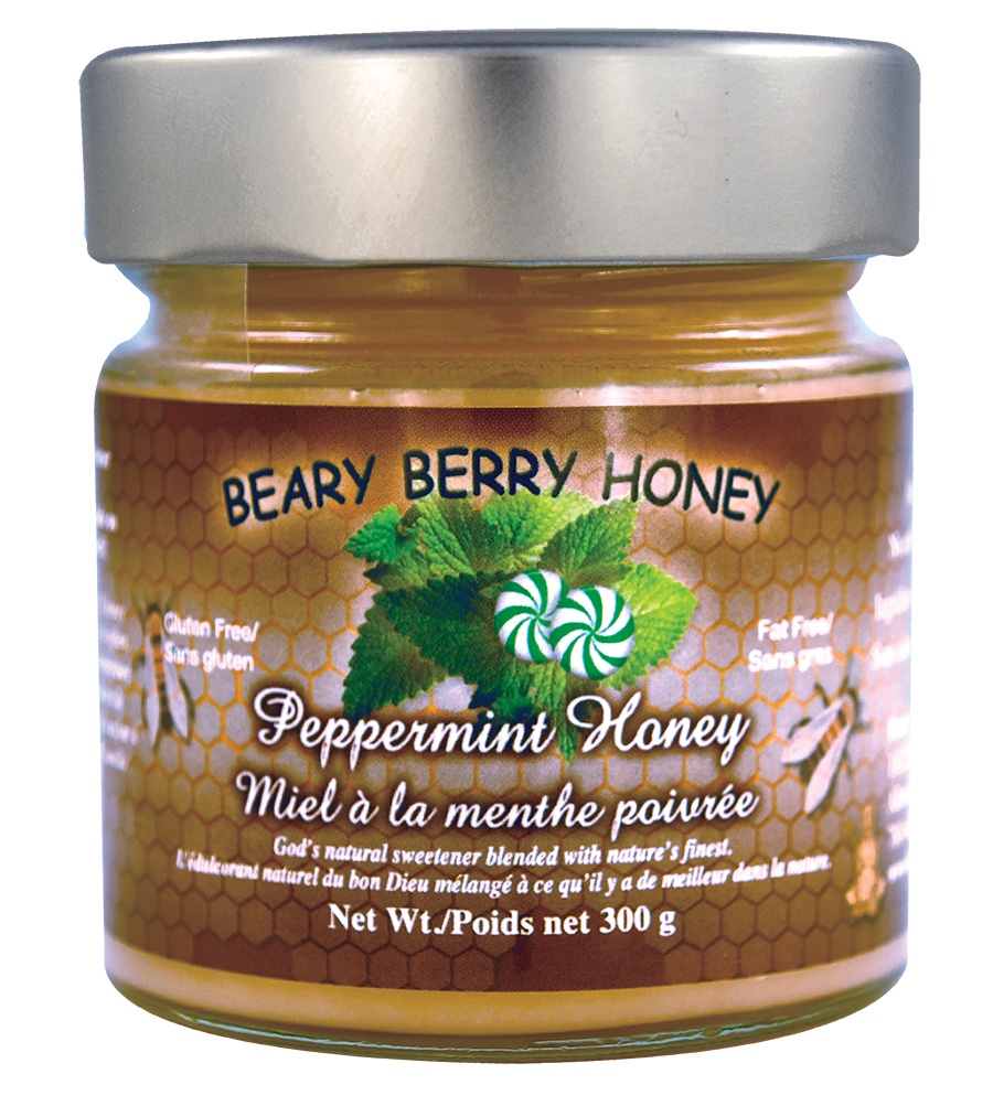 Peppermint Honey 300g