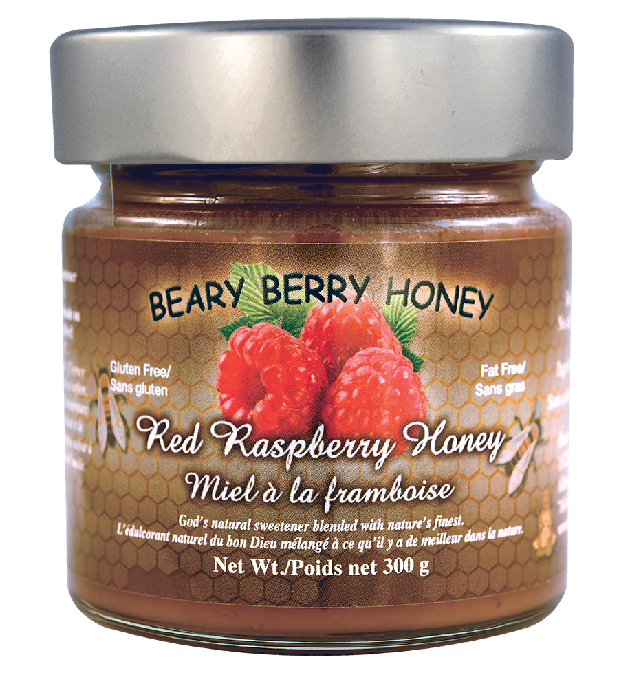 Red Raspberry Honey 300g