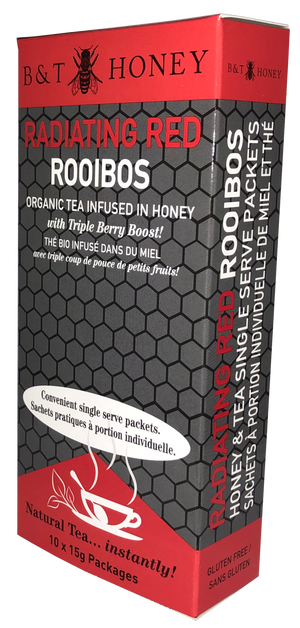Red Rooibois Tea Honey Shots