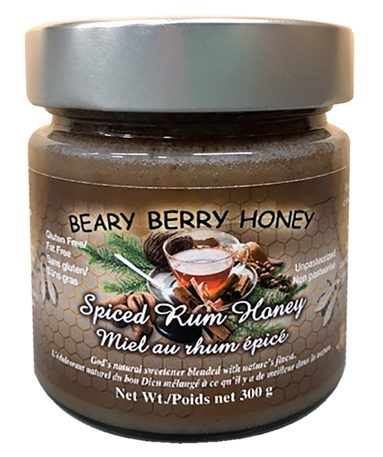 Spiced Rum Honey 300g