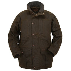 Oilskin Deer Jacket Real Wool Shop