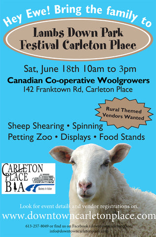 Lambsdown Park Festival 2016 at the CCWG in Carleton Place Ontario