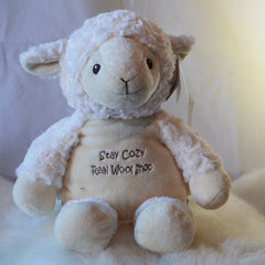 liam the lamb - real wool shop