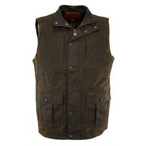 Oilskin Vest Deer Hunter 2049