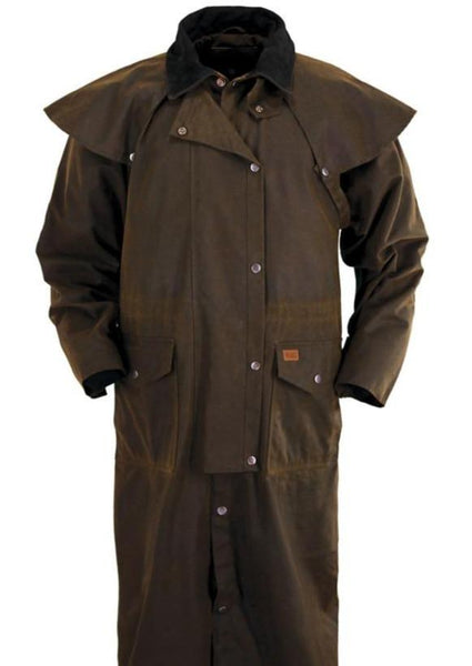 Oilskin Duster Jacket 2056 The Real Wool Shop