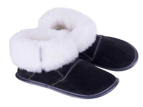 Sheepskin Slippers - Men's High Cut