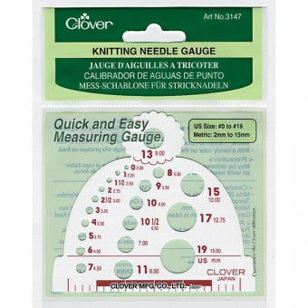 Knitting Needle / Hook Gauges