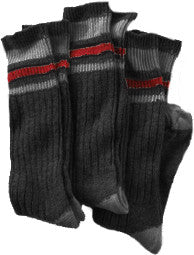 Stanfields black wool socks 3 pkg