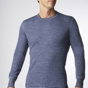 men's stanfields long sleeve 2 layer wool underwear