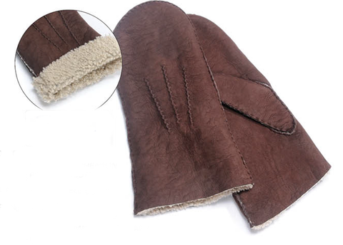 Mitts Lambskin Suede Men's