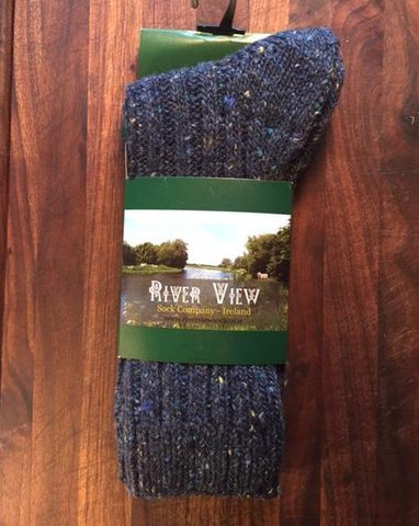 Socks - River View - Tweed Wool - Men - 707