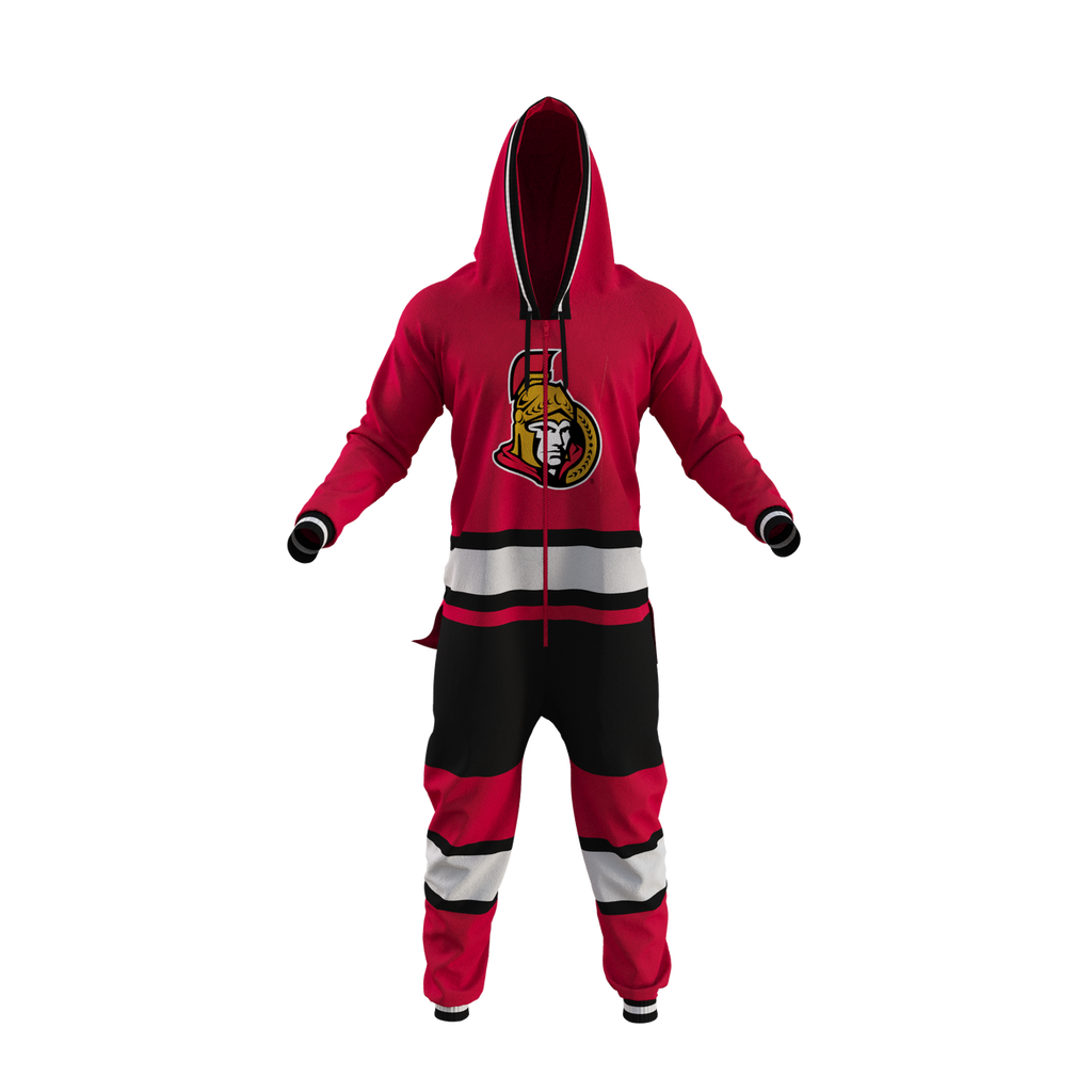 Licenced NHL Senators Jersey Onesie - Hockey Sockey