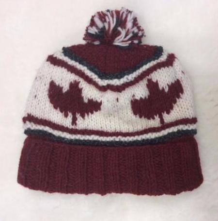 Hat Wool Hand Knit Canada Collection