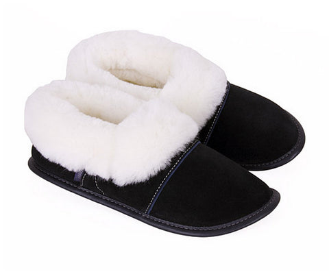 Slippers - Sheepskin - Low Cut - Men's