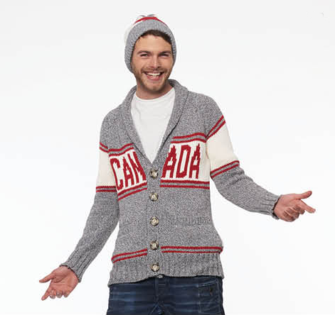 Cotton Canada Cardigan-Mens