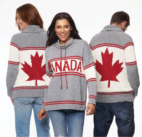 Cotton Canada Pullover Sweater- Ladies 87115