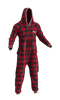 PJS Fleece Onesie Adult