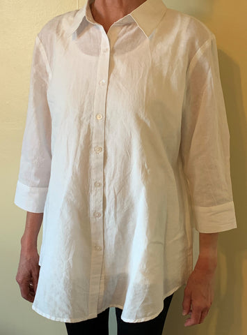 Shirt Cotton - Charlie Paige - 3/4 sleeves