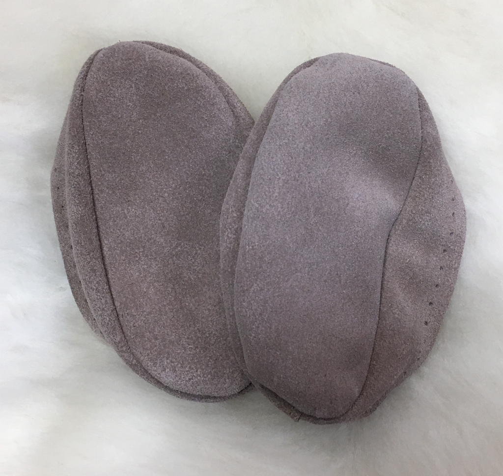 Suede Soles for Slippers
