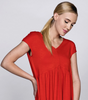 Top - Red Coral- Sleeveless