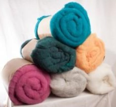 Batting- Wool- Wet Felting