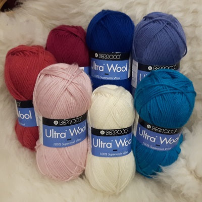 Yarn - Berroco Ultra Wool -100% Superwash Wool