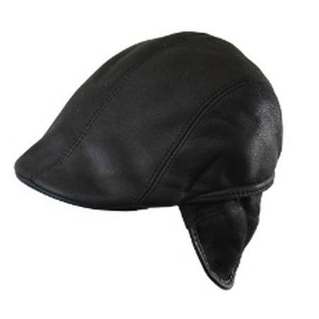 Hat - Shearling Cap - Men's