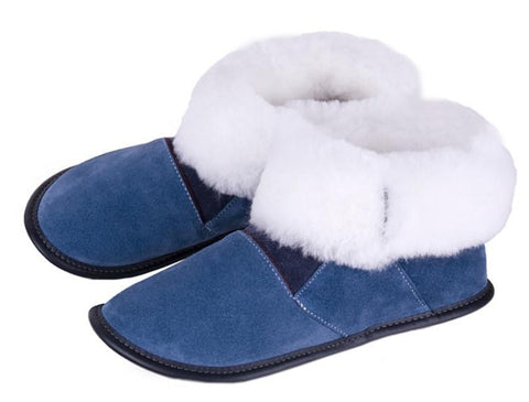 Sheepskin Slippers - Ladies High Cut