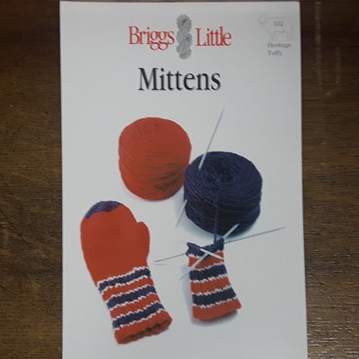 Pattern - Briggs & Little - Mittens (S/M/L)