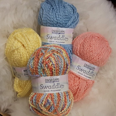 Yarn - Cascade Swaddle - Summer Knitting - Free PDF Patterns