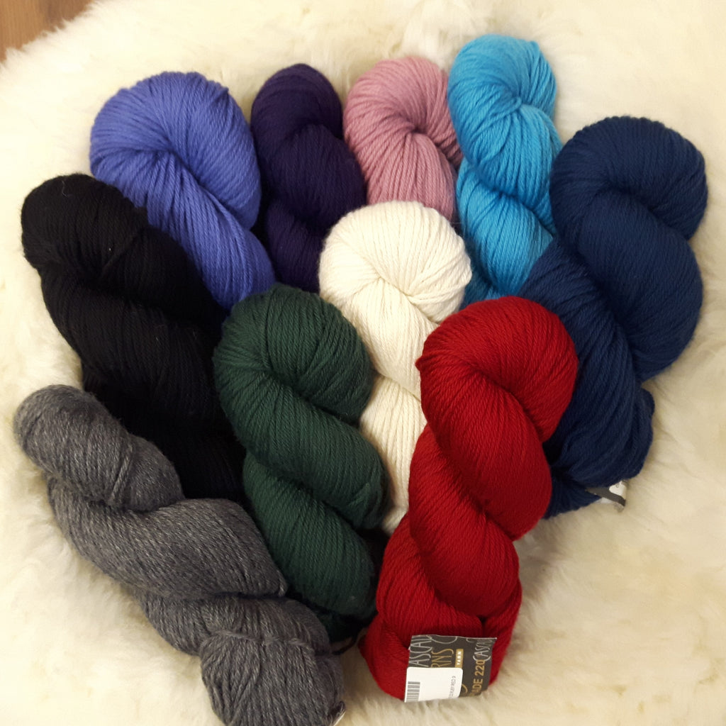 Yarn - Cascade 220 - 100% Peruvian Highland Wool