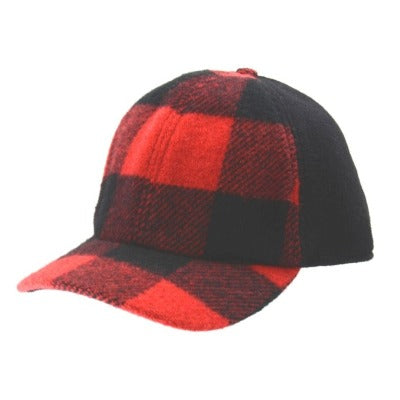 Hat- Buffalo Check Baseball Cap