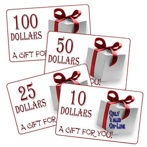 Real Wool Shop on-line Gift Cards