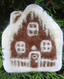 Felting Kit- Gingerbread Decoration