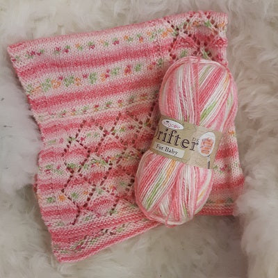 Yarn - King Cole Drifter for Baby DK - Acrylic / Cotton / Wool
