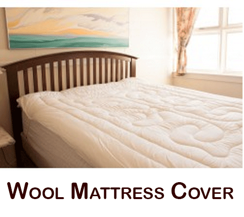 canadian wool mattress cover pad