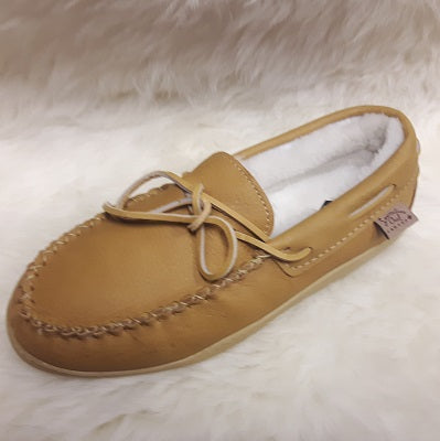 Moccasins - Moosehide - Sheepskin Lined - Ladies - Sizes 10 & 12