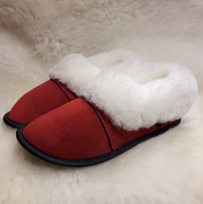 Slippers - Sheepskin - Low Cut - Ladies